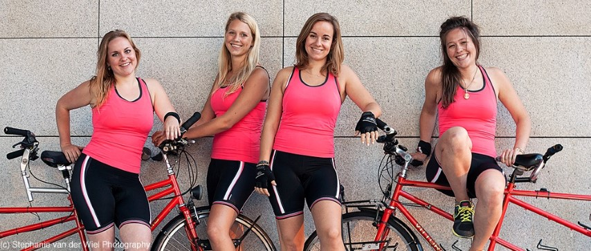 Ride For Women S Rights 4 Girls Cycle 2 Tandem Bikes From