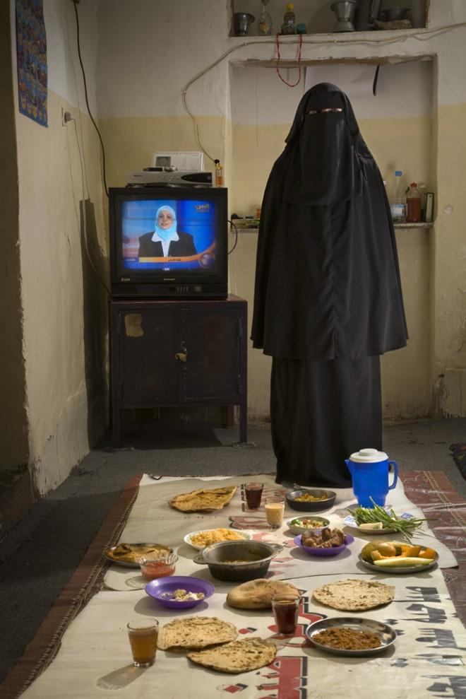 Saada Haidar, a housewife, Sanaa, Yemen (2,700kcal)