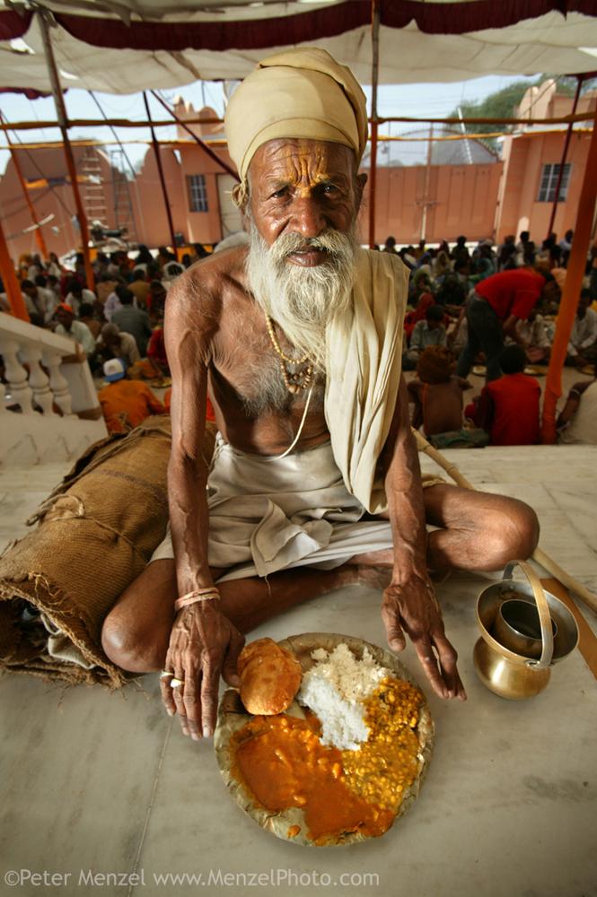 Sitarani Tyaagi, Hindu Priest (1,000 kcal)