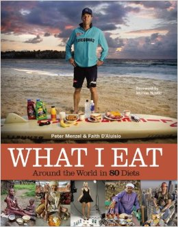 What I eat book