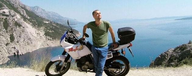 digital nomad motorcycle trip
