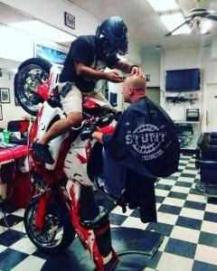 Motobarber - just a normal barbershop haircut