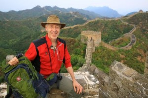 Alone on the Great Wall of China - William Lindsay