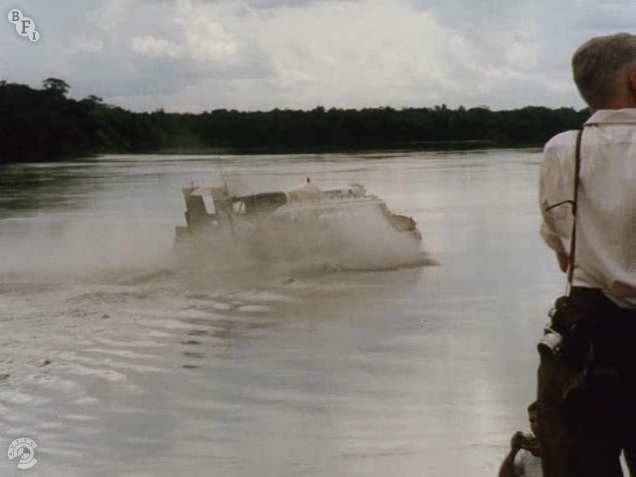 Amazon Hovercraft Expedition, 1969, the SNR6 (2)
