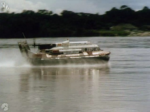 Amazon Hovercraft Expedition, 1969, the SNR6 (3)
