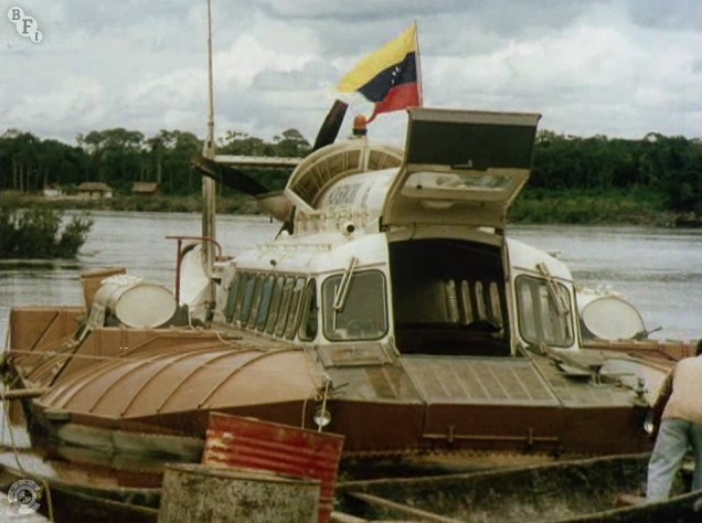 Amazon Hovercraft Expedition, 1969, the SNR6
