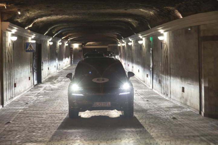 Moldova wine cellar tunnels Cricova car tour 1 (Small)