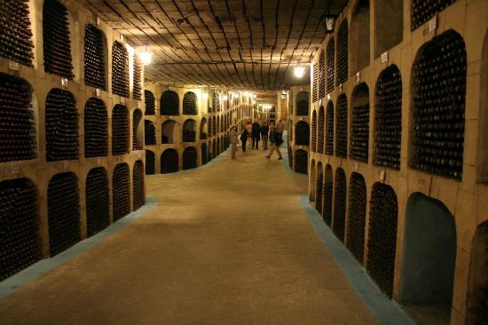 Moldova wine cellar tunnels, Milestii Mici1