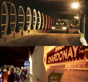 Running & Driving through Moldovan wine tunnels