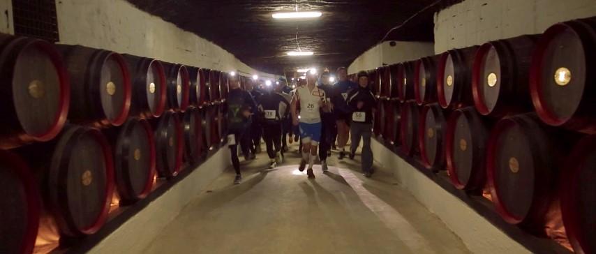 Running the Moldova wine cellar tunnels - Cricova Run (Small)