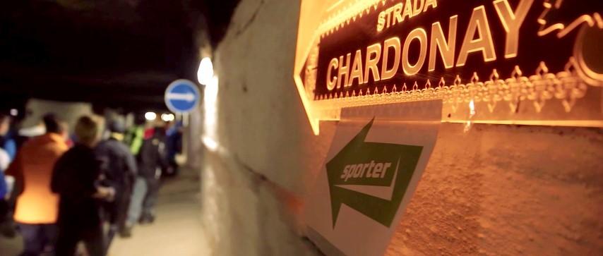 Running the Moldova wine cellar tunnels - strada Chardonnay - Cricova Run 3 (Small)