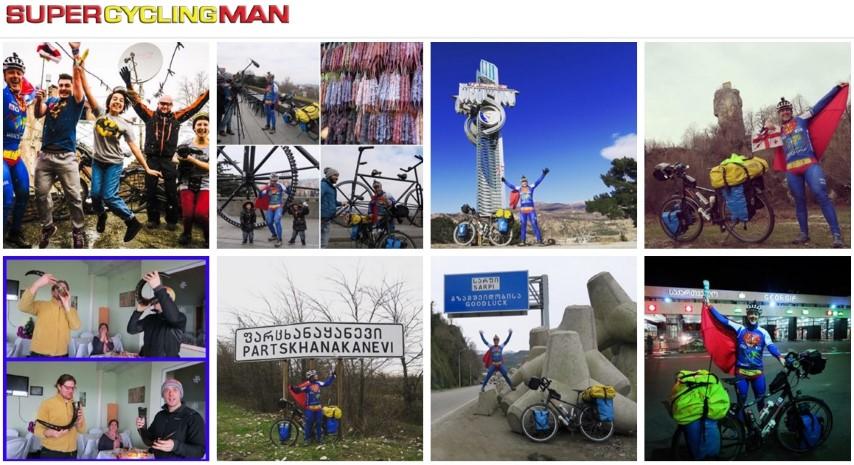 SuperCyclingMan in Georgia