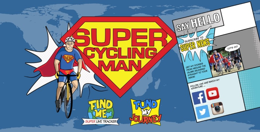 Supercyclingman website frontpage (Small)