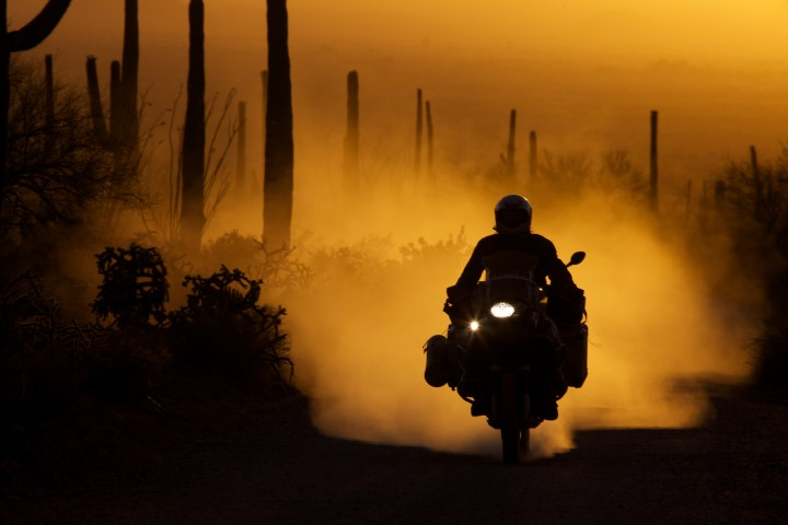 Exploring the deserts of the earth, motorcycle documentary