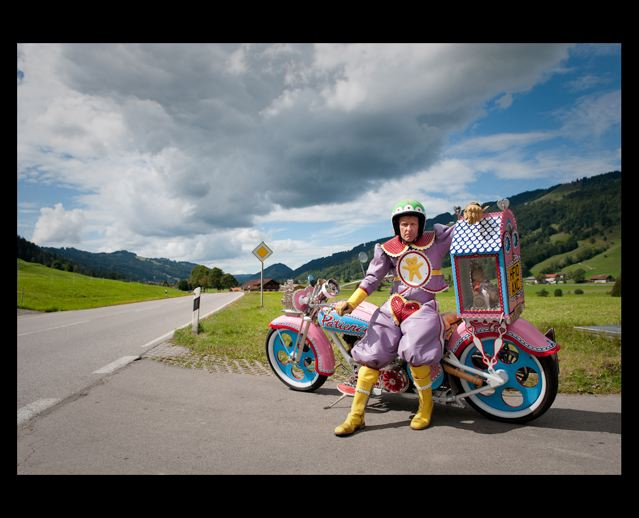 Grayson Perry pink motorbike 2a