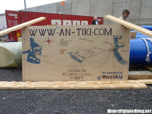 The AnTiki - A Transatlantic Sailing Trip in a Garden Shed on a Raft (9)