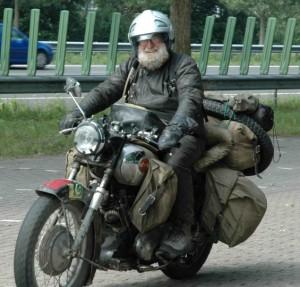 The Last Hurrah - Des Molloy arriving in Arnhem