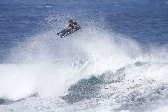 Wave Skiing Mike Douglas