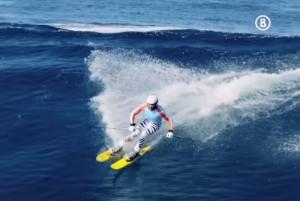 Wave skiing 1
