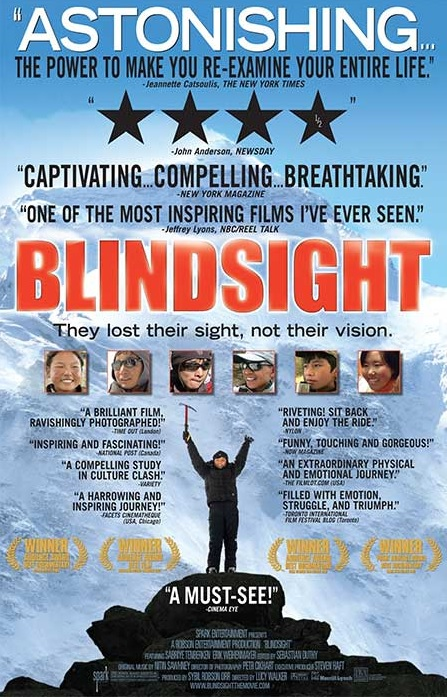 blindsight - six blind Tibetan kids climb Everest