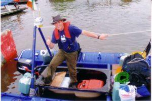 Bathtub sailing the Amazon - Rob Dowling