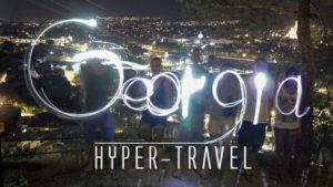 Hyper Travel Georgia (Tbilisi nightview)