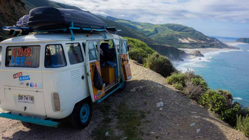 The Long Way Up - Hasta Alaska VW kombi roadtrip