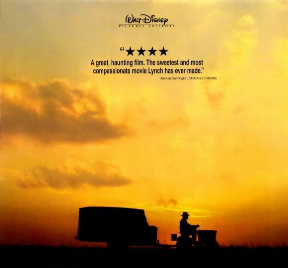 The Straight story_a lawnmower roadtrip journey (movie poster)