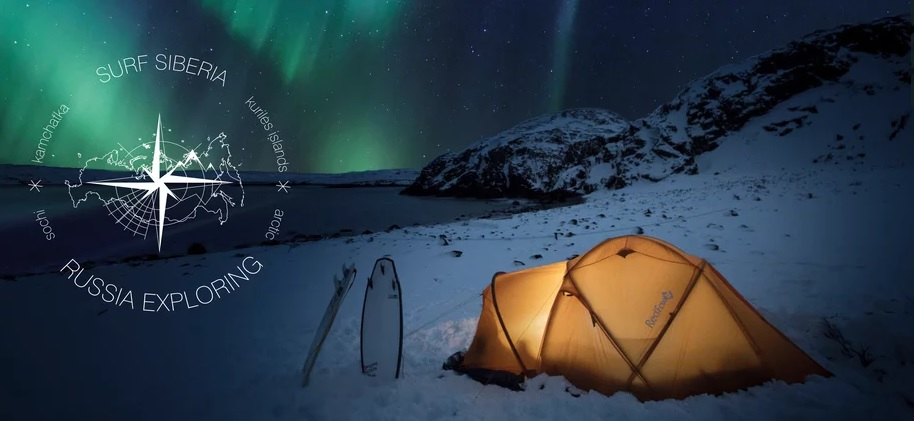 Surfing Siberia_Arctic Ocean winter surf and camping