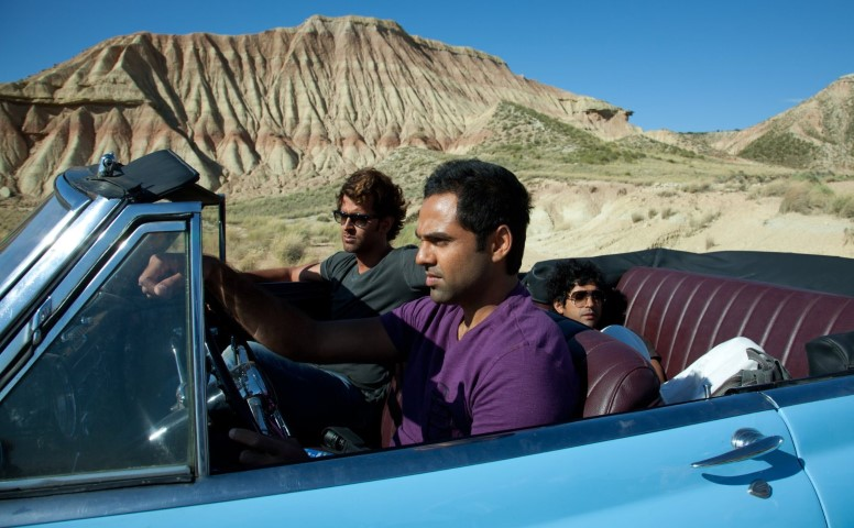 Zindagi Na Milegi Dobara roadtrip movie in a cabrio