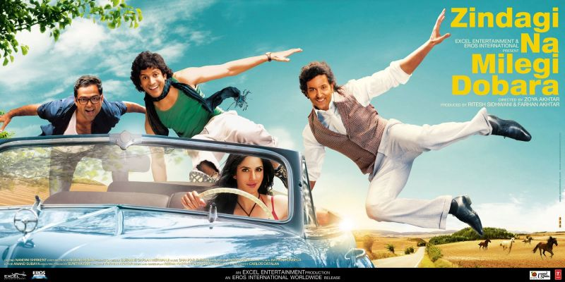 Zindagi Na Milegi Dobara is Bollywood's greatest roadtrip adventure travel movie