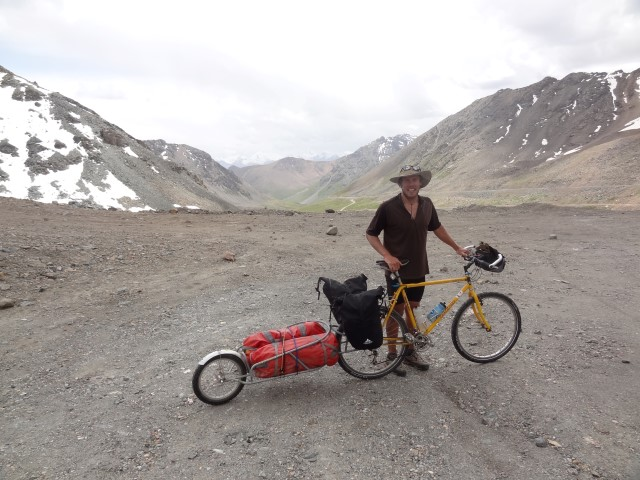 The road from Karakol - cycling and climbing adventure in Kyrgyzstan