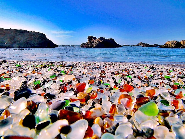 3a3c4795c90d The elements did their job, transforming the glass remnants into shiny,  colorful pebbles the same way as in Russia's glass beach.