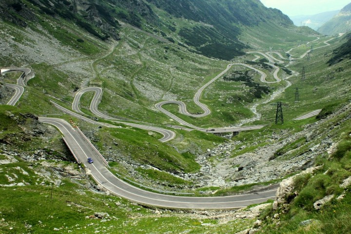 Transfagarasan road - Nordkapp Motorcycle Touring Adventure by Honda Roadtrip