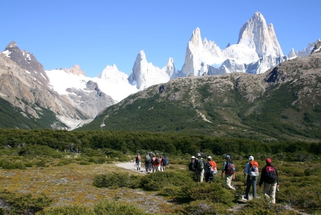 hiking holiday ideas Torres del Paine
